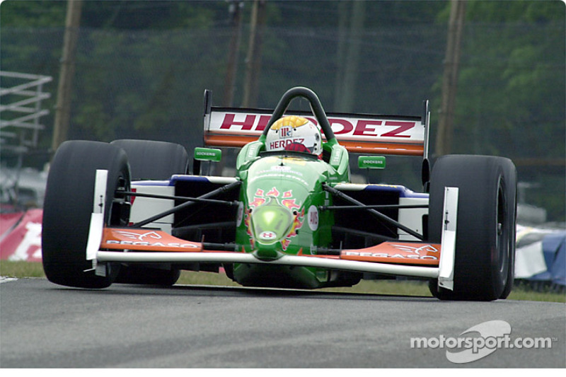 Michel Jourdain, Jr. also gets a wheel up