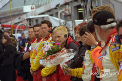 Pre-race ceremonies: Kenny Brack