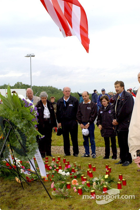 Joe Heitzler, Roberto Moreno and others remembering September 11th
