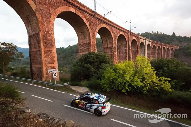 #10: Jari-Matti Latvala bei der Rallye Spanien
