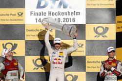 Podium: campeón 2016, Marco Wittmann, BMW Team RMG, BMW M4 DTM