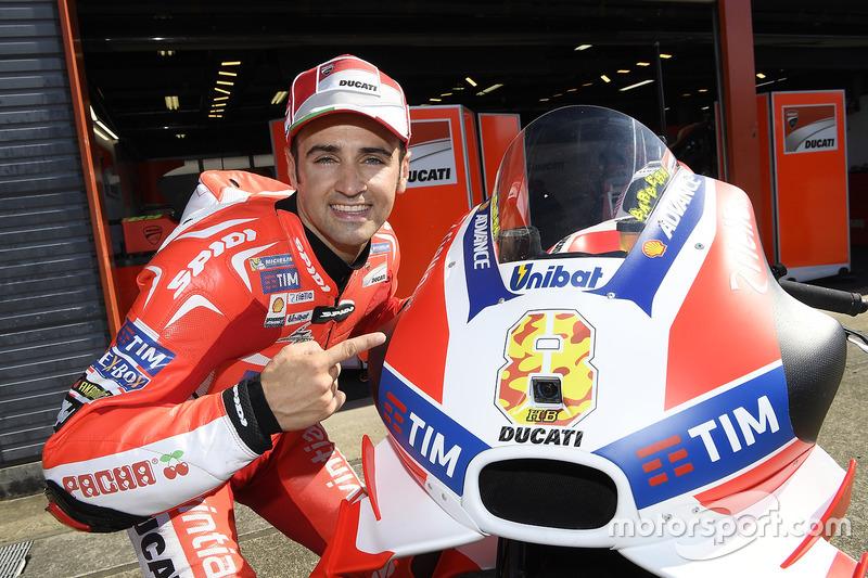 Ектор Барбера, Ducati Team