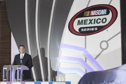 Steve O'Donnell, NASCAR vice president, NASCAR Peak México Series presentation