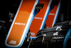Manor Racing MRT05 voorvleugels