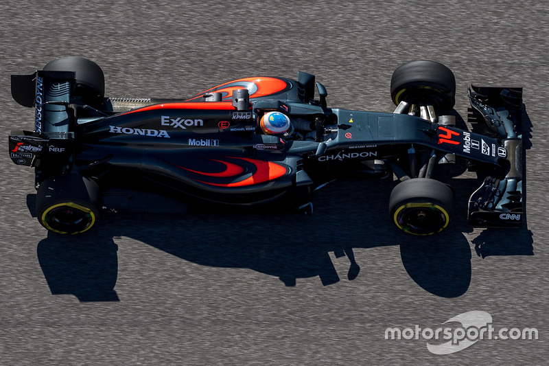 5. Fernando Alonso, McLaren MP4-31