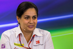 Monisha Kaltenborn, Sauber, Teamchefin