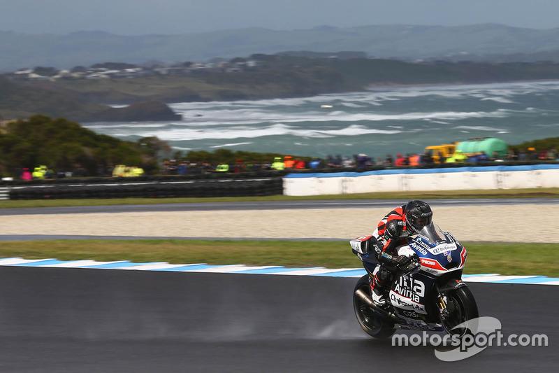 27. Майк Джонс, Ducati. 27-ме місце у турнірній таблиці, 1 очко