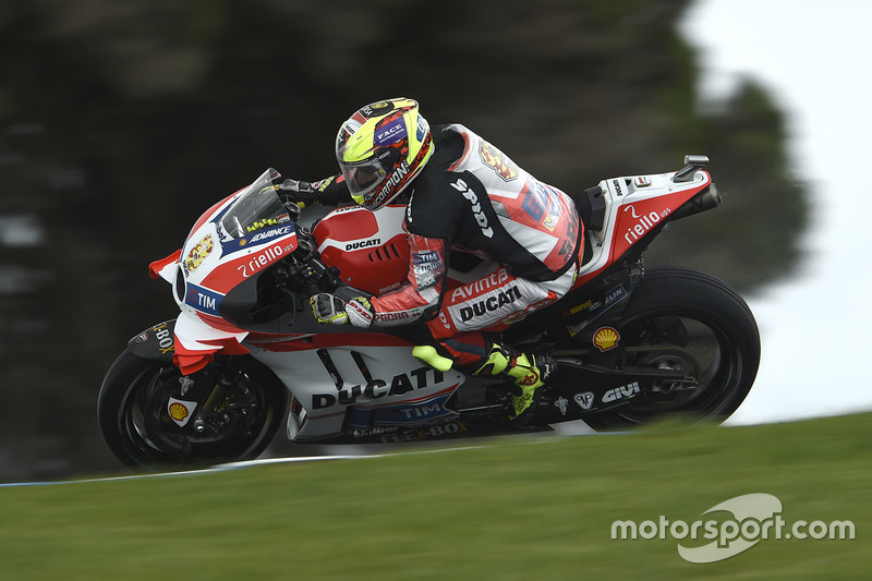 OUT: Hector Barbera, Ducati Team