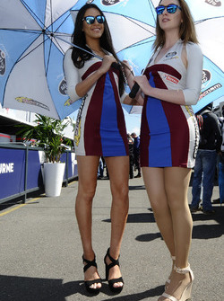 Lovely Marc VDS Racing girls