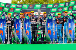 Podium: 1. Jamie Whincup, Paul Dumbrell, Triple Eight Race Engineering, Holden; 2. Shane van Gisbergen, Alexandre Prémat, Triple Eight Race Engineering, Holden; 3. Scott McLaughlin, David Wall, Garry Rogers Motorsport, Volvo
