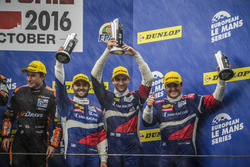 Podium: third place #32 SMP Racing BR 01 Nissan: Stefano Coletti, Andreas Wirth, Vitaly Petrov
