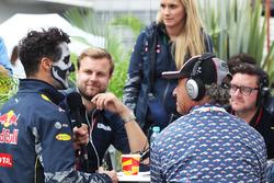 Daniel Ricciardo, Red Bull Racing with Jo Ramirez
