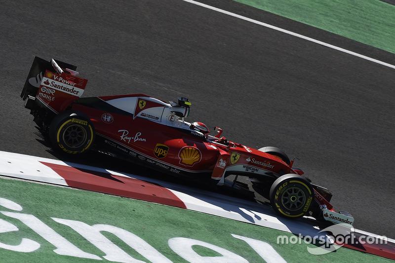 6: Kimi Raikkonen, Ferrari SF16-H