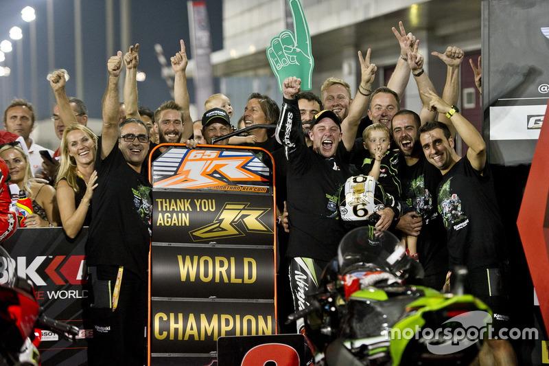 Jonathan Rea, Kawasaki Racing, Champion du monde 2016