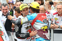 1.  Johann Zarco, Ajo Motorsport, 2. Franco Morbidelli, Marc VDS