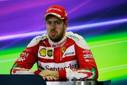 Себастьян Феттель, Ferrari на прес-конференції
