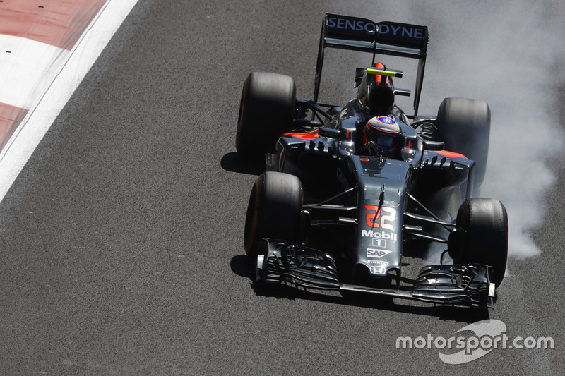 7. Jenson Button, McLaren MP4-31