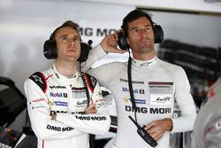 #1 Porsche Team Porsche 919 Hybrid: Тимо Бернхард, Марк Уэббер
