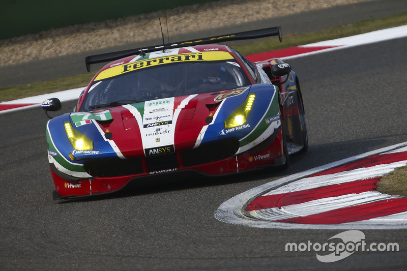 El Ferrari #71 de Davide Rigon y Sam Bird