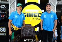 Marcos Gomes e Felipe Fraga em Curitiba