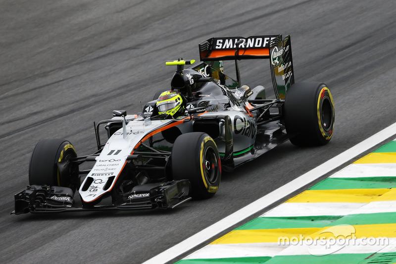 Sergio Perez, Sahara Force India F1, 1.12.165