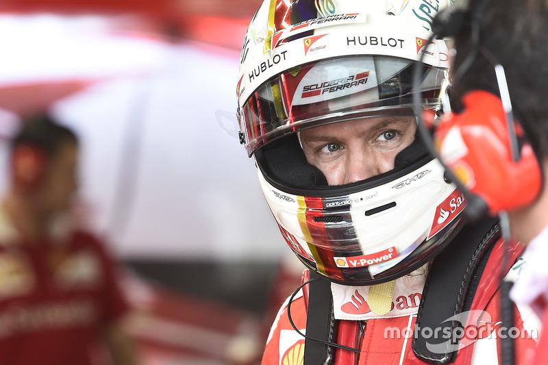 3 місце - Себастьян Феттель, Ferrari