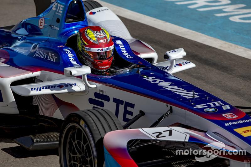 Wat was in 2016 de hoogste finishpositie van Robin Frijns in het FIA Formule E-kampioenschap?