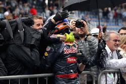 Max Verstappen, Red Bull Racing RB12 viert de derde plaats