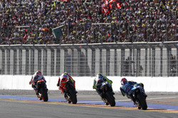 Marc Marquez, Repsol Honda Team; Andrea Iannone, Ducati Team; Valentino Rossi, Yamaha Factory Racing