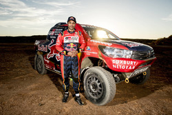 Тесты Toyota Gazoo Racing в преддверии ралли Дакар 2017