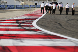 Toyota Racing during the track walk