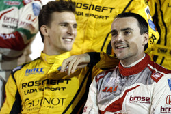 Юго Валент, LADA Sport Rosneft, Lada Vesta; Норберт Міхеліс, Honda Racing Team JAS, Honda Civic WTCC