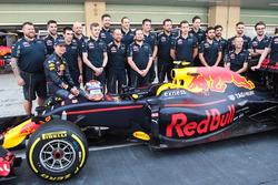 Max Verstappen, Red Bull Racing in una foto della squadra