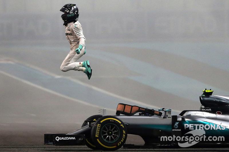 5. O campeão do mundo da F1, Nico Rosberg, Mercedes AMG F1 W07 Hybrid