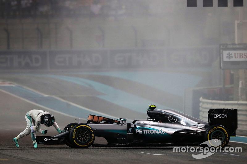 2 місце - Ніко Росберг, Mercedes AMG F1 W07 Hybrid. Умовний бал - 47,500