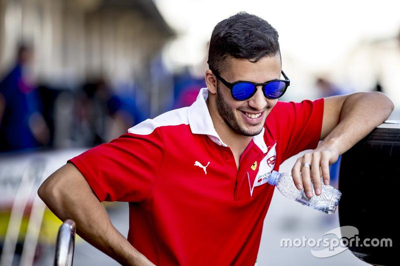 #10: Antonio Fuoco - 3. Platz GP3 (Trident)