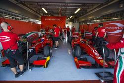 Antonio Fuoco, PREMA Racing en Charles Leclerc, PREMA Racing