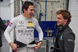 Robert Wickens en Lucas Auer,Mercedes-AMG C63 DTM