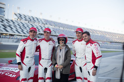 Andrea Bertolini; James Colado; Toni Vilander; Giancarlo Fisichella