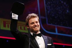 Le champion du monde de F1, Nico Rosberg, Mercedes AMG F1