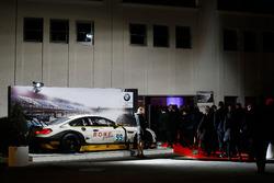 ROWE Racing BMW M6 GT3, Ganador 24 horas de Spa 2016 en la entrada principal
