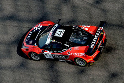 #77 Kessel Racing, Ferrari 458 GT3: Jacques Duyver, Marco Zanuttini, David Perel