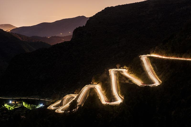 4. Os famosos e traiçoeiros caminhos ao rededor de Monte Carlo