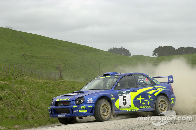 Richard Burns, Robert Reid, Subaru Impreza WRC