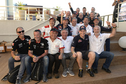 Legend drivers at the Dakar 2017