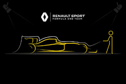 Renault F1 launch teaser