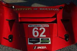 #62 Risi Competizione Ferrari 488 GTE detail