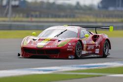 #3 DH Racing Ferrari 488 GT3: Rino Mastronardi, Alex Riberas, Olivier Beretta