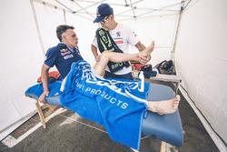 Lucas Cruz, Peugeot Sport avec Jean-Philippe Imparato