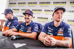 Alex Doringer, Red Bull KTM Factory Racing, Sam Sunderland, Red Bull KTM Factory Racing, Matthias Walkner, Red Bull KTM Factory Racing